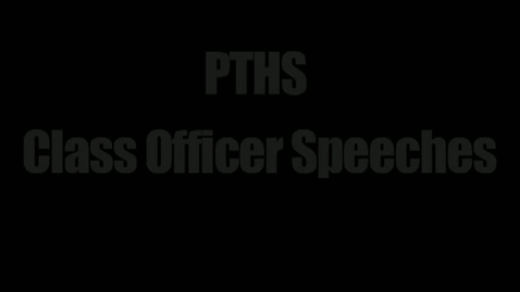Thumbnail for entry 2012 Class Officer Speeches