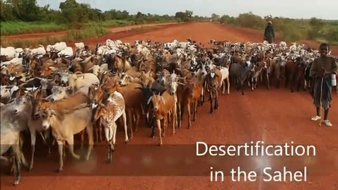 Thumbnail for entry Desertification in the Sahel