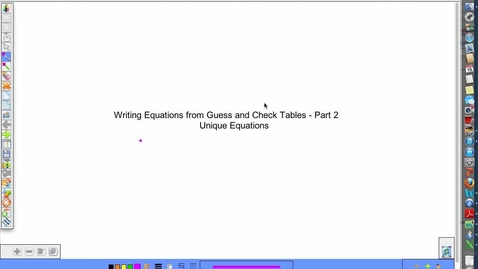 Thumbnail for entry More Word Problems