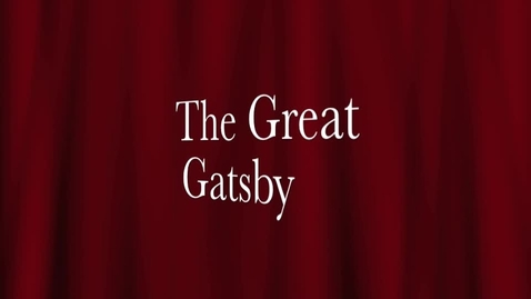 Thumbnail for entry Great Gatsby Project