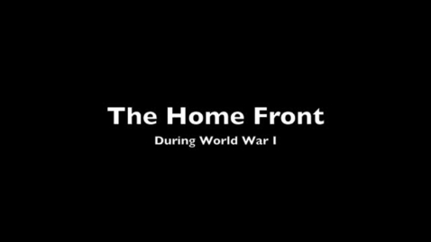 Thumbnail for entry The Home Front