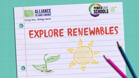 Thumbnail for entry Explore Renewables Video