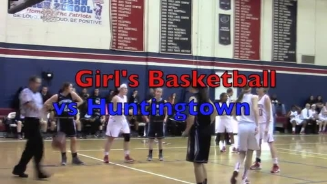 Thumbnail for entry Girls Basketball vs. Huntingtown