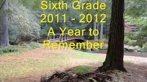 Thumbnail for entry 2011-2012 Brookville 6th Grade