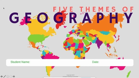 Thumbnail for entry 5 Themes of Geography.mp4