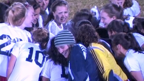 Thumbnail for entry Bohanon's 5 Goals leads Lady Knights into Semifinals