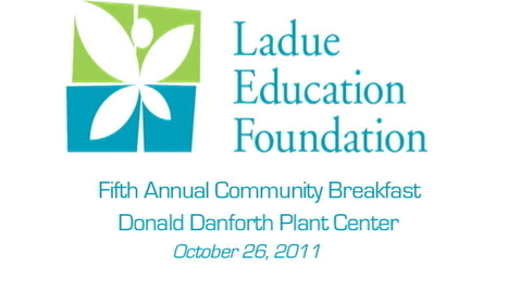 Thumbnail for entry LEF Community Breakfast - Don Goble