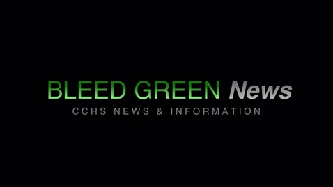 Thumbnail for entry 11 -20-2017 Bleed Green News