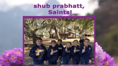 Thumbnail for entry Saints @ 8, Tuesday, April 2, 2019