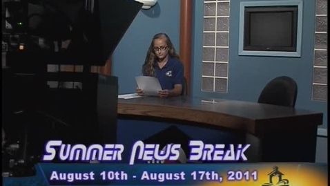 Thumbnail for entry NHCS Summer News Break - August 10, 2011