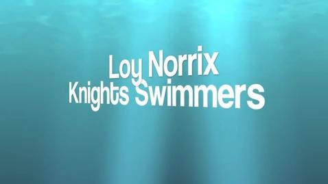 Thumbnail for entry LN Men's Swim Team