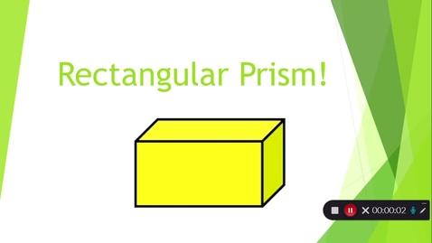 Thumbnail for entry Rectangular Prism