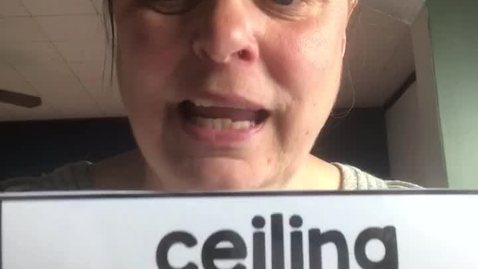Thumbnail for entry 4.23.20-Spanish word of the day – ceiling