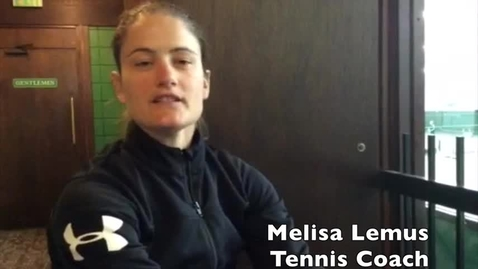 Thumbnail for entry Tennis Interview