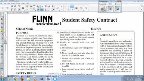 Thumbnail for entry Safety Contract for 2012-2013