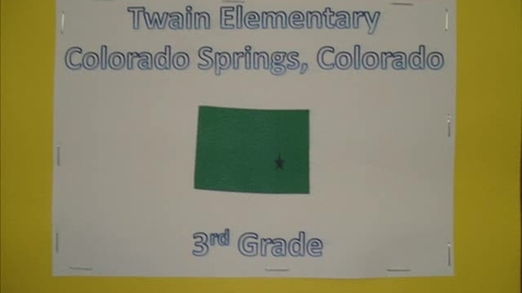 Thumbnail for entry Mark Twain Elementary, Colorado Springs, CO