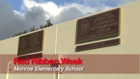 Thumbnail for entry Red Ribbon Week 2012 - Monroe Elementary, SAUSD