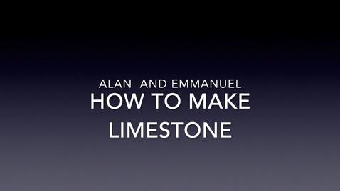 Thumbnail for entry DIY Limestone.mp4
