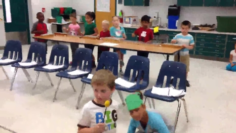 """Thumbnail for entry 14-15 Ms. Stout's 1st grade class """"Little Green Frog"""""""