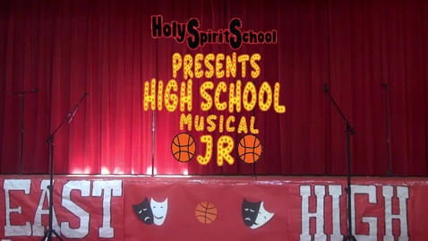 Thumbnail for entry High School Musical Jr 1PM Show