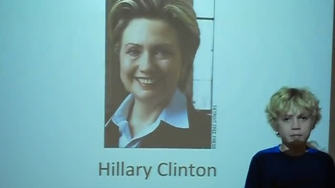 Thumbnail for entry Hillary Clinton