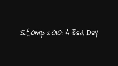 Thumbnail for entry Marinangeli B3 A Bad Day