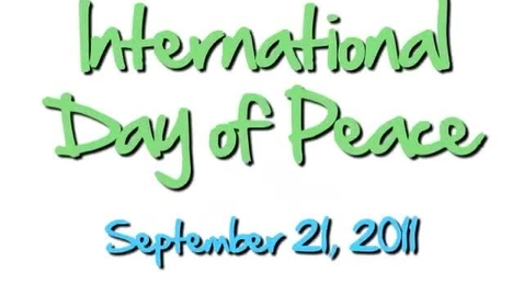 Thumbnail for entry International Day of Peace