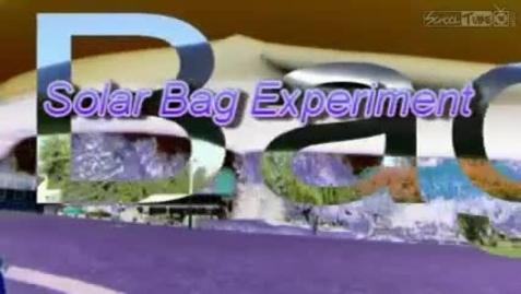 Thumbnail for entry Solar Bag Experiment