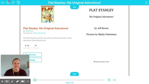 Thumbnail for entry Flat Stanley ch 1-3