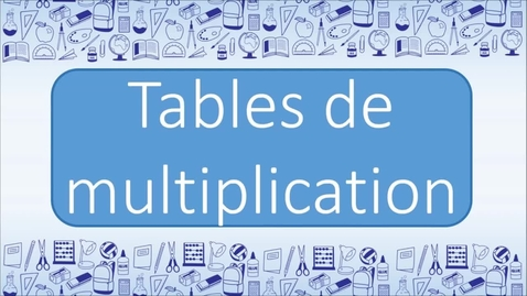 Thumbnail for entry Multiplication Table de 2