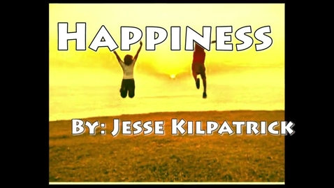 Thumbnail for entry Happiness - WSCN Abstract 2012