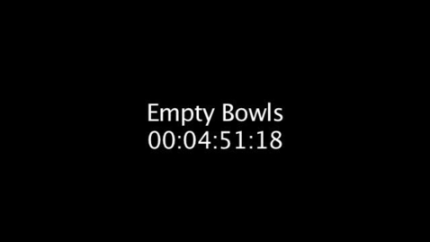 Thumbnail for entry Empty Bowls