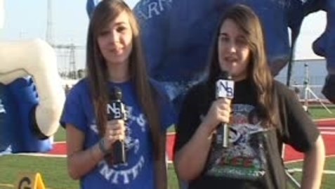 Thumbnail for entry NBHS on the Sidelines - New Braunfels V. Canyon 2010 Football game