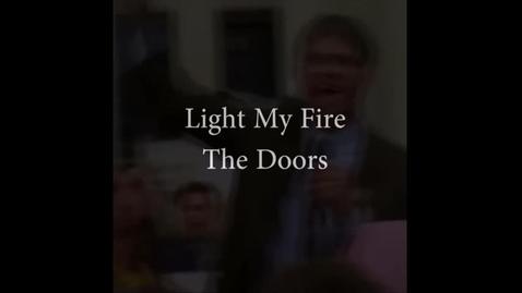 Thumbnail for entry Light My Fire (The Doors) - WSCN PTV 2, Sem 2 (2016-2017)