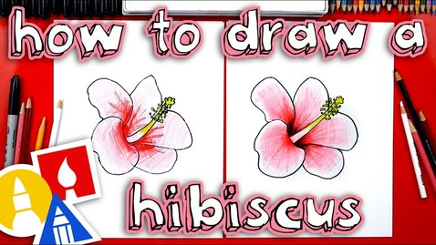 Thumbnail for entry How To Draw A Hibiscus Flower 🌺