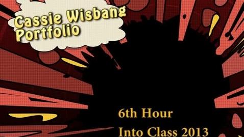 Thumbnail for entry Cassie final WOBN portfolio 2013