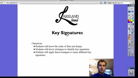 Thumbnail for entry Key Signatures
