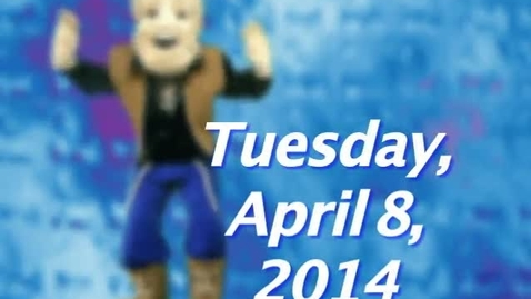 Thumbnail for entry Tuesday, April 8, 2014