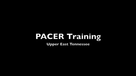 Thumbnail for entry TN CSH PACER Workshop