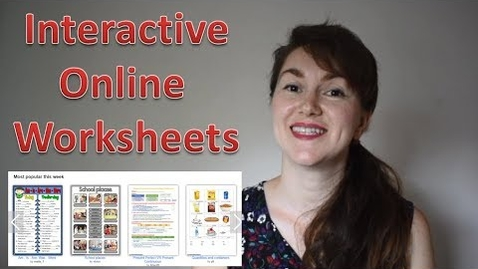 Thumbnail for entry Teaching online: interactive worksheets