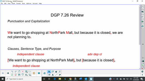 Thumbnail for entry DGP 7.26 Review