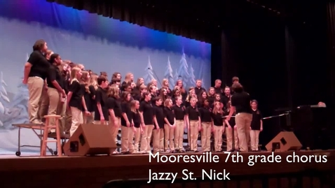 Thumbnail for entry Mooresville Middle School Winter Chorus Concert 2012