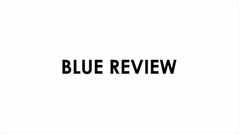 Thumbnail for entry Blue Review, December 8, 2015