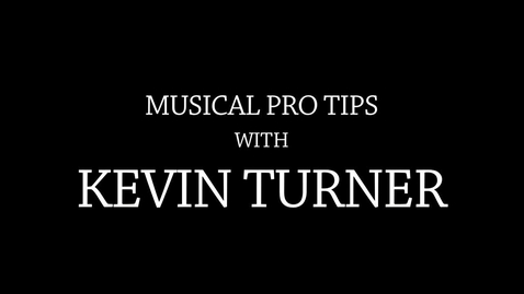 Thumbnail for entry Musical Pro Tips
