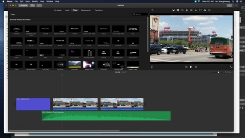 Thumbnail for entry exporting from imovie