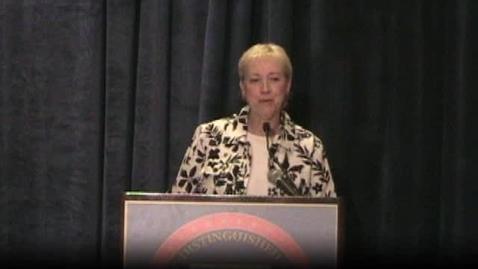 Thumbnail for entry Debbie Long of Idaho NDP award speech