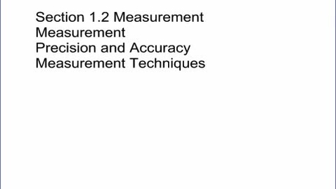 Thumbnail for entry Physics Sec 1.2