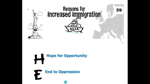 Thumbnail for entry Hist7-Ch 4- Lesson 1- Immigration
