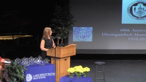 Thumbnail for entry Ladue High School - 2012 Distinguished Alumni, James M. McKelvey, Jr.