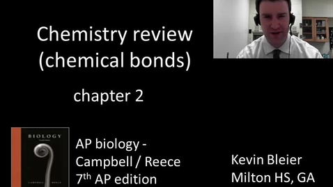 Thumbnail for entry Chemical bonds (chemistry review part 2 of 2)